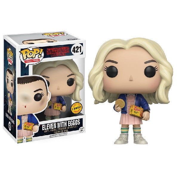 Stranger Things Pop! Vinyl Figure Eleven with Eggos (Chase)