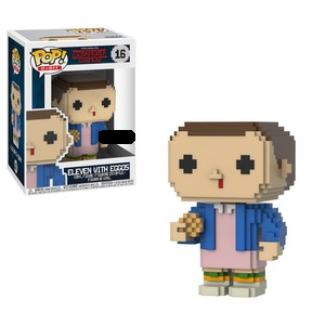 Stranger Things Pop! Vinyl Figure 8-Bit Eleven With Eggos [16]