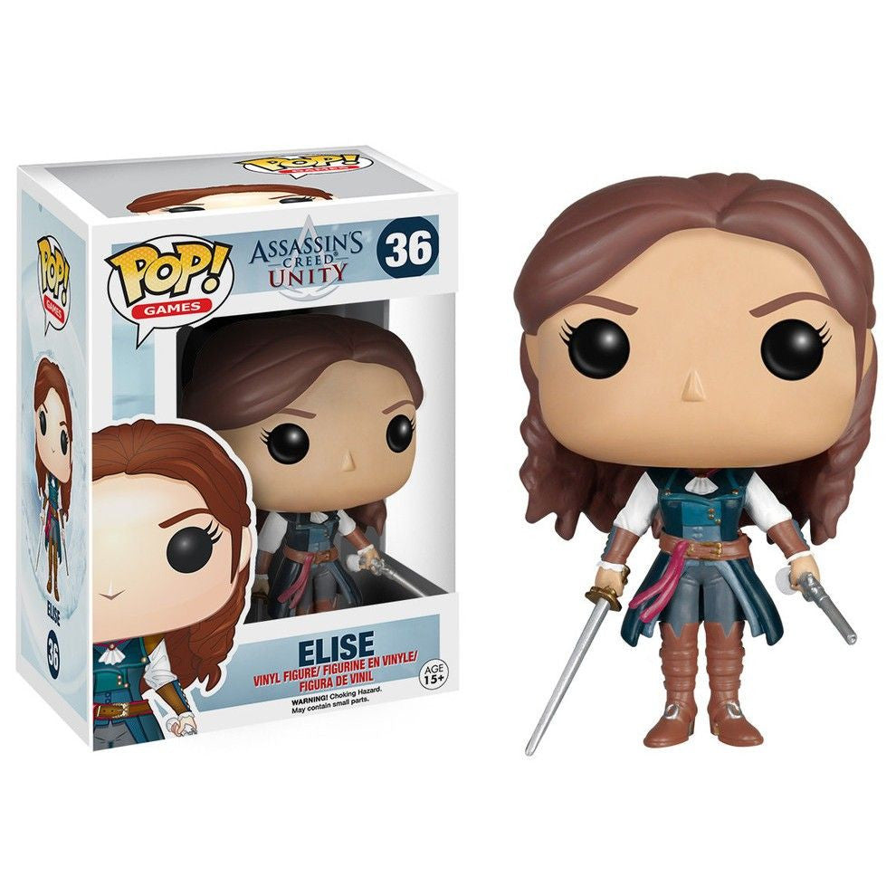 Assassin's Creed: Unity Pop! Vinyl Figure Elise - Fugitive Toys