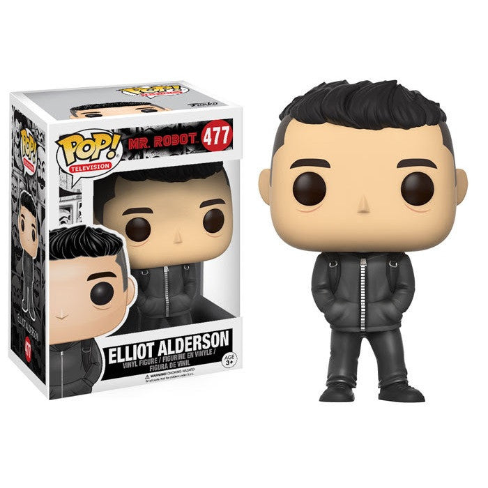 Mr. Robot Pop! Vinyl Figure Elliot Alderson - Fugitive Toys