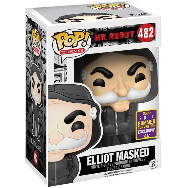 Mr. Robot Pop! Vinyl Figure Elliot Masked (2017 Summer Convention Exclusive) [482] - Fugitive Toys