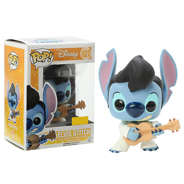 Disney Pop! Vinyl Figure Elvis Stitch [Lilo & Stitch] Exclusive - Fugitive Toys