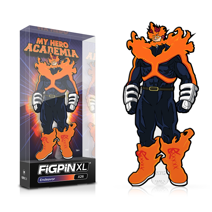 My Hero Academia: FiGPiN Enamel Pin Endeavor XL [X26]