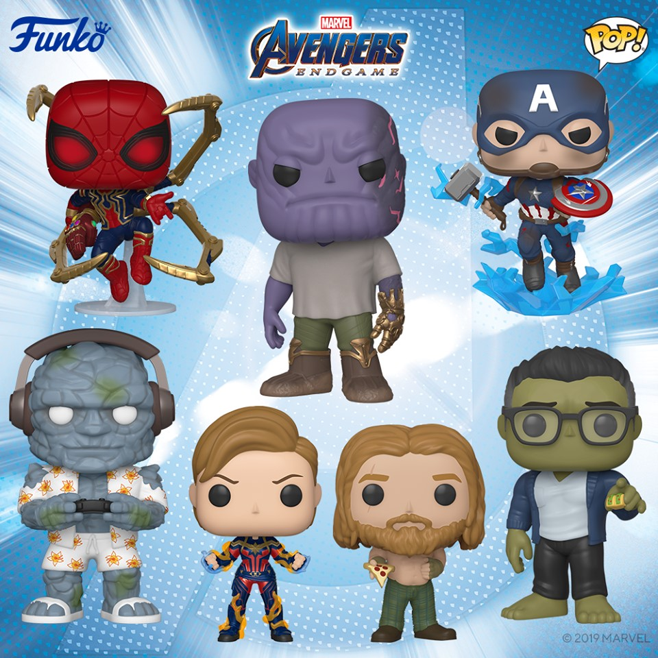 Avengers Endgame Pop! Vinyl Figures Bundle [Set of 7]