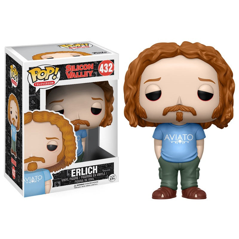 Silicon Valley Pop! Vinyl Figure Erlich