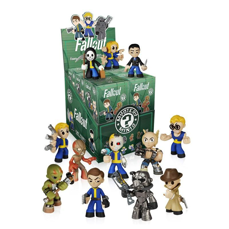Fallout Mystery Minis: (1 Blind Box) - Fugitive Toys