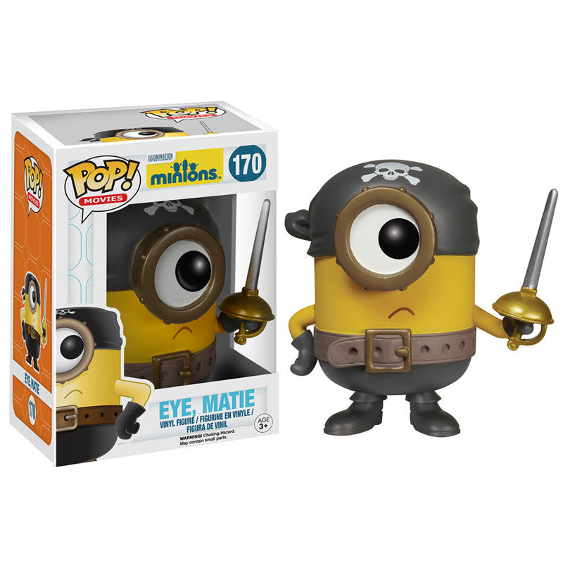 Movies Pop! Vinyl Figure Eye, Matie [Minions] - Fugitive Toys