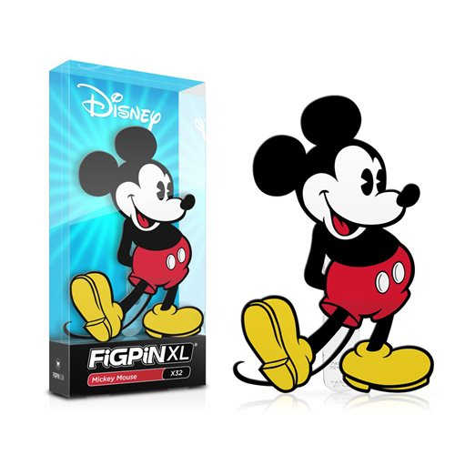 Disney: FiGPiN XL Enamel Pin Mickey Mouse [X32]