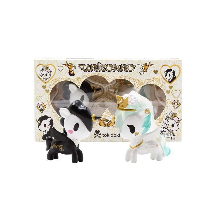 Tokidoki Unicorno Valentine Romeo and Juliet 2-Pack - Fugitive Toys