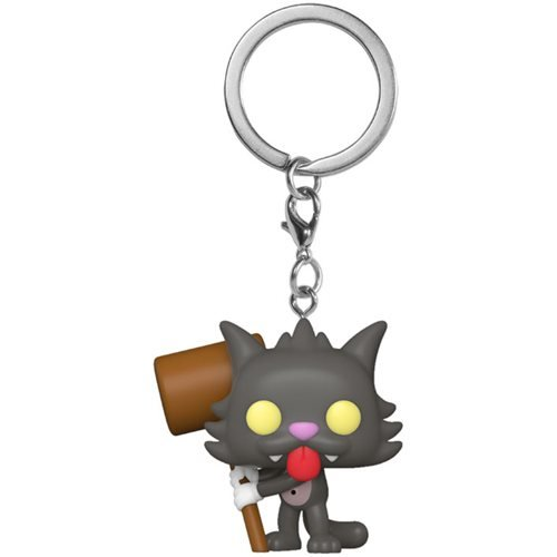 The Simpsons Pocket Pop! Keychain Scratchy