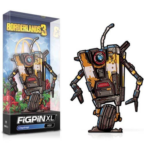 Borderlands 3: FiGPiN XL Enamel Pin Claptrap [X22]