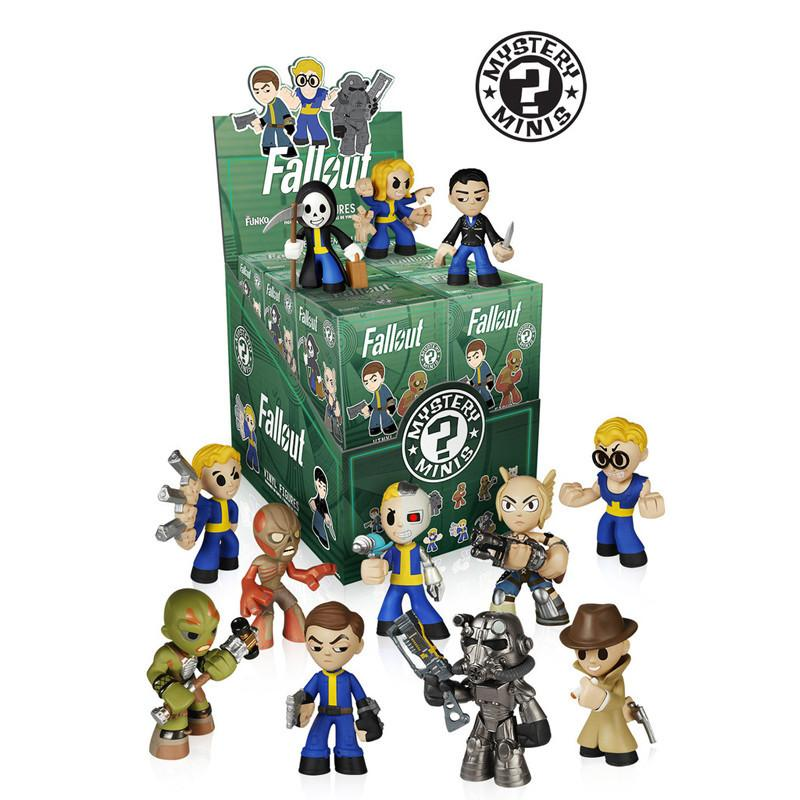 Fallout Mystery Minis: (Case of 12) - Fugitive Toys
