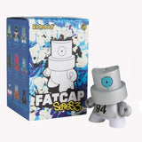 Kidrobot FatCap Series 3 (1 Blind Box) - Fugitive Toys