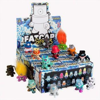 Kidrobot FatCap Series 3 (Case of 20)