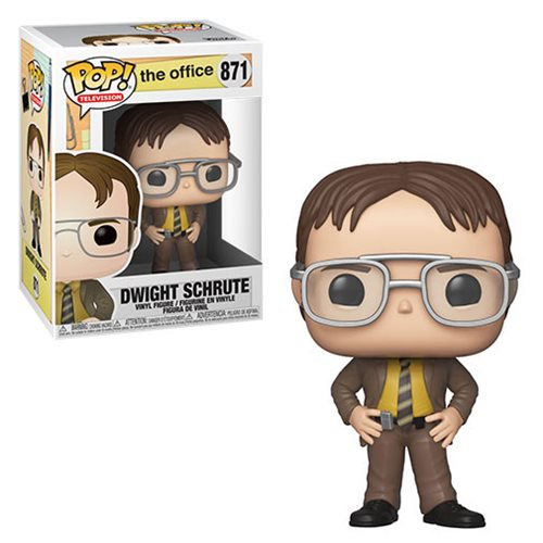 The Office Pop! Vinyl Figure Dwight Schrute [871] - Fugitive Toys
