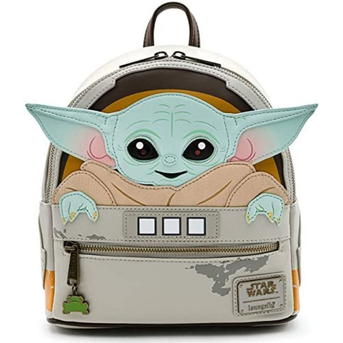 Loungefly x Star Wars Mandalorian Child Cradle Mini Backpack