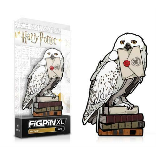 Harry Potter: FiGPiN XL Enamel Pin Hedwig [X29]