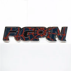 Spider-Man: Into The Spider-Verse FiGPiN Enamel Pin Spider-Verse FiGPiN Logo (NYCC 2019 Exclusive)