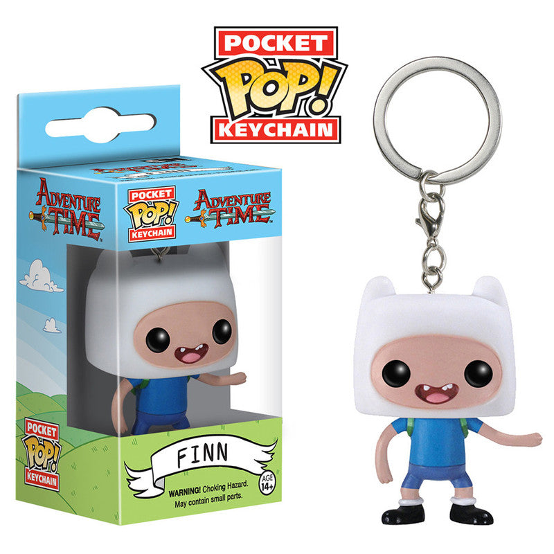 Adventure Time Pocket Pop! Keychain Finn