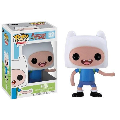 Adventure Time Pop! Vinyl Figure Finn - Fugitive Toys