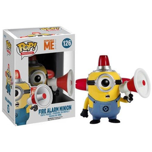 Despicable Me 2 Pop! Vinyl Figure Fire Alarm Minion