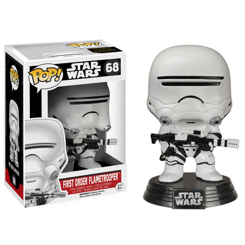 Star Wars Pop! Vinyl Bobblehead First Order Flametrooper [Episode VII: The Force Awakens]