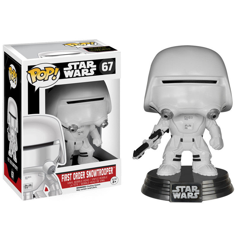 Star Wars Pop! Vinyl Bobblehead First Order Snowtrooper [Episode VII: The Force Awakens]