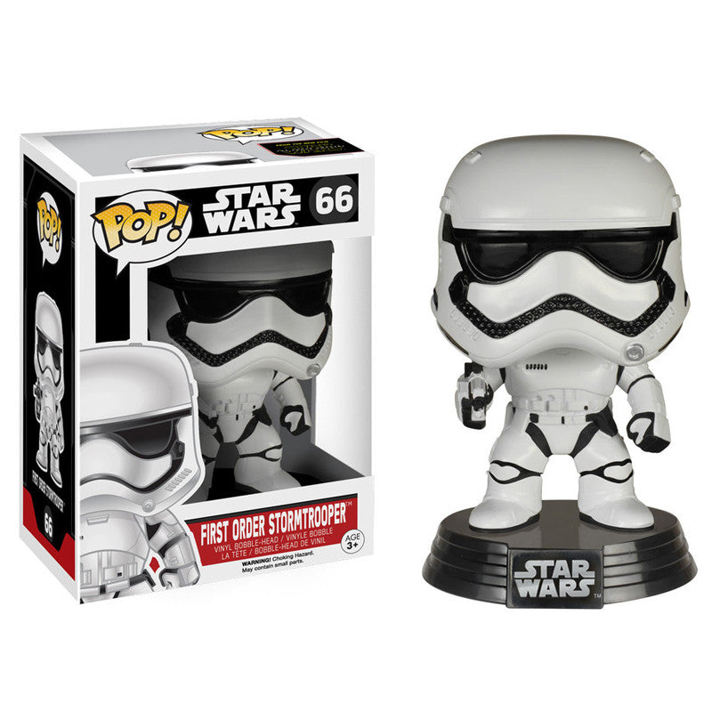 Star Wars Pop! Vinyl Bobblehead First Order Stormtrooper [Episode VII: The Force Awakens]