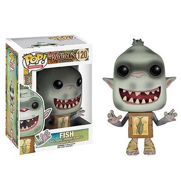 Movies Pop! Vinyl Figure Fish [The Boxtrolls]