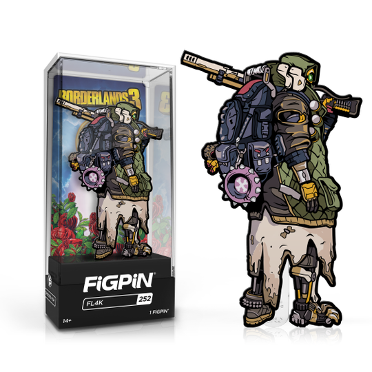 Borderlands 3: FiGPiN Enamel Pin FL4K [252]