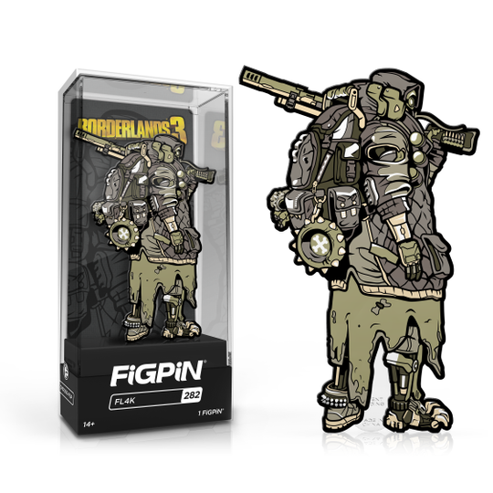 Borderlands 3: FiGPiN Enamel Pin FL4K (Chase) [282]