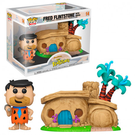 Town Pop! Vinyl Figure The Flintstones Fred Flintstone with House [14]