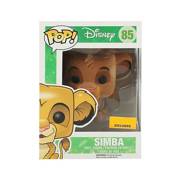 Disney Pop! Vinyl Figure Flocked Simba [The Lion King] Exclusive