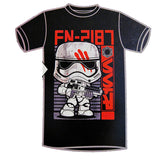 Pop! Tees Star Wars FN-2187 [65] (Target Exclusive) Small - Fugitive Toys