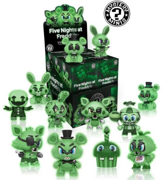Five Nights at Freddy's Glow in the Dark Mystery Mini: (Case of 12)