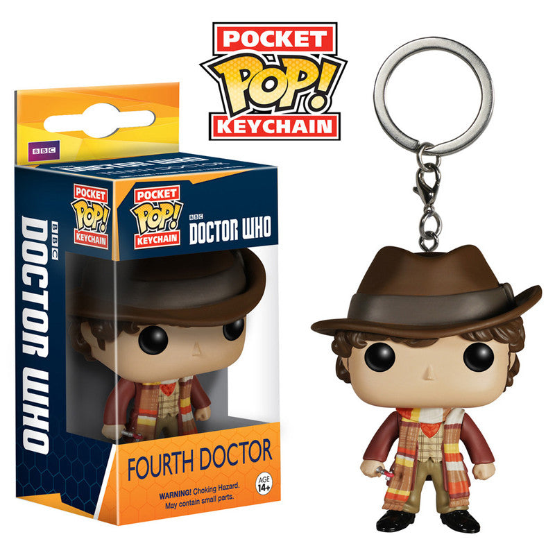 Doctor Who Pocket Pop! Keychain Fourth Doctor