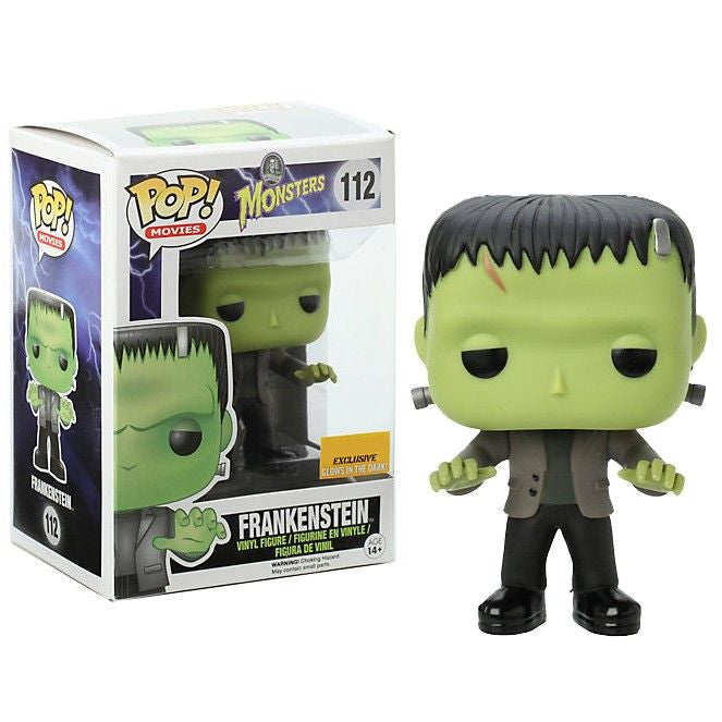 Movies Pop! Vinyl Figure Glow in the Dark Frankenstein [Universal Monsters] Exclusive