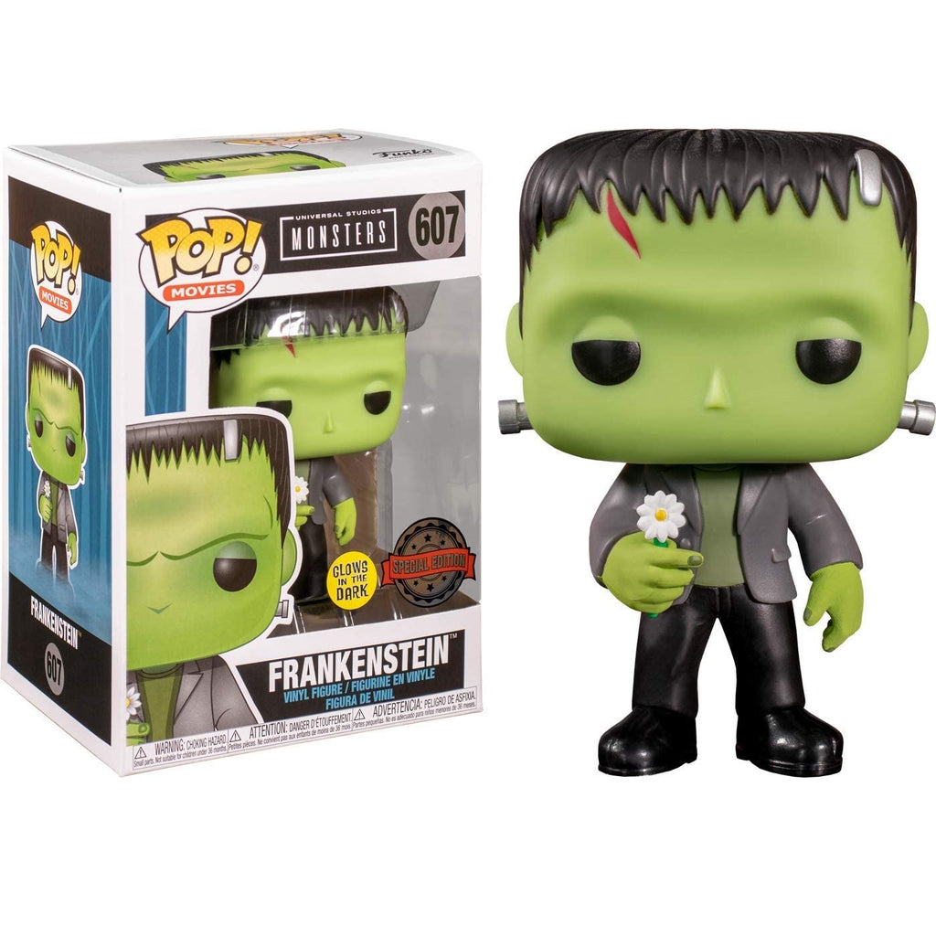 Universal Monsters Pop! Vinyl Figure Frankenstein with Flower (Glow in the Dark) [607]