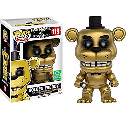 Five Nights at Freddy's Pop! Vinyl Figures Golden Freddy [Exclusive] [119]