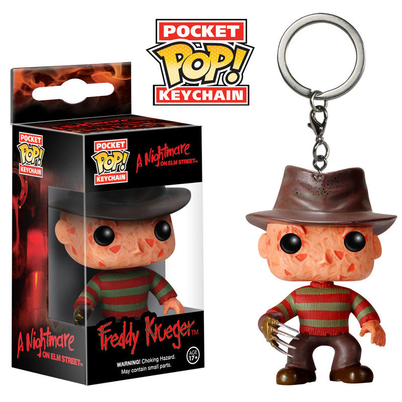Movies Pocket Pop! Keychain Freddy Krueger [A Nightmare on Elm Street]
