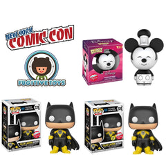 [Preorder] Fugitive Toys New York Comic Con 3 Pack Funko Exclusive