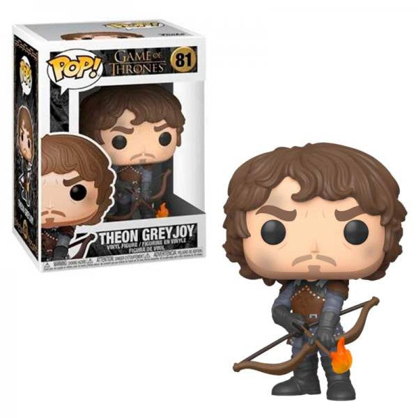 Game of Thrones Pop! Vinyl Figure Theon Greyjoy with Flaming Arrows [81]