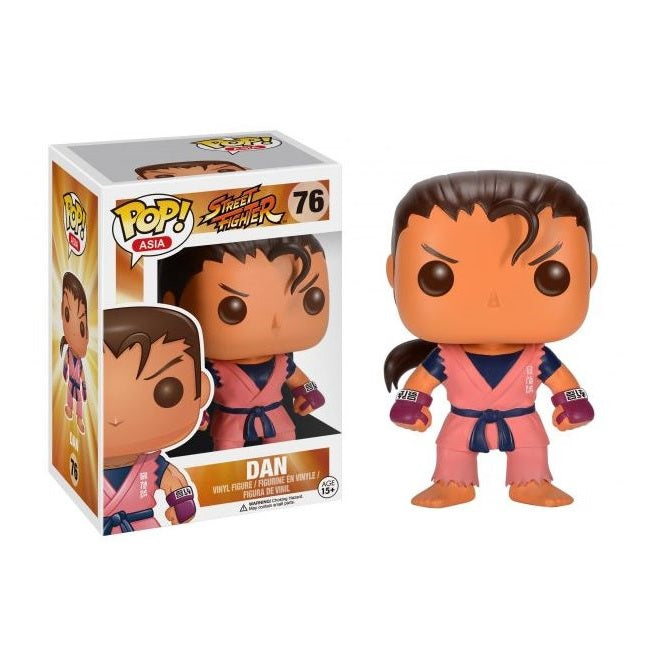 Street Fighter Pop! Vinyl Figure Dan [142]