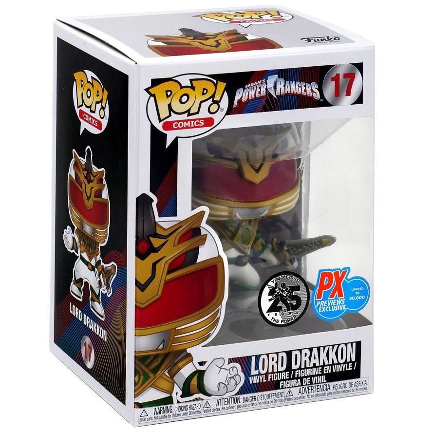 Power Rangers Pop! Vinyl Figure Lord Drakkon [17] [PX Exclusive]