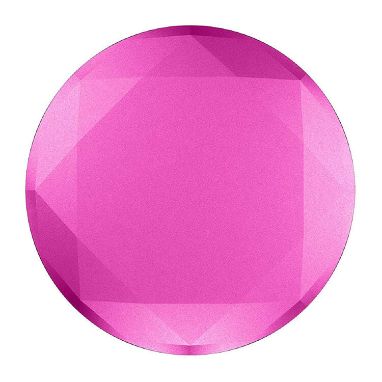 PopSockets Premium: Fuschia Metallic Diamond