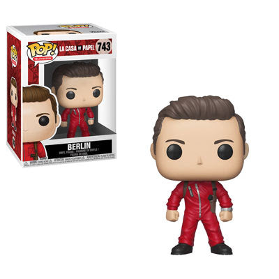 La Casa De Papel Pop! Vinyl Figure Berlin [743]