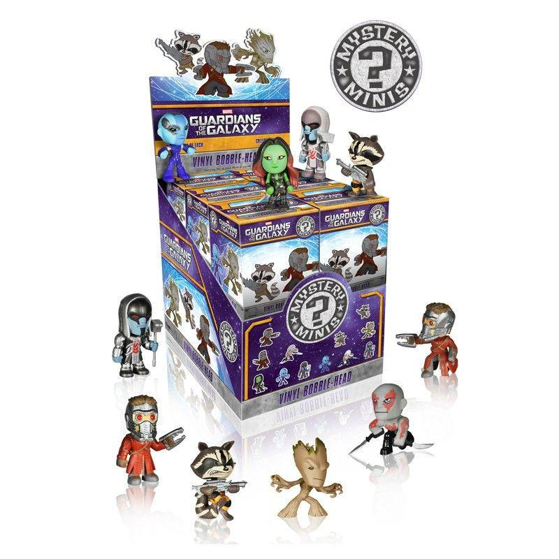 Guardians of the Galaxy Mystery Minis: (Case of 12)