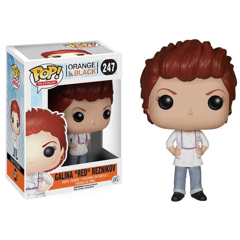 Orange is the New Black Pop! Vinyl Figure Galina 'Red' Reznikov