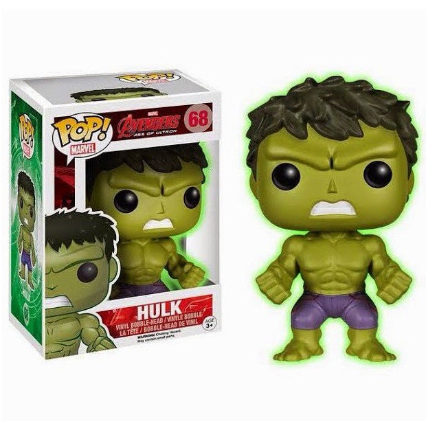 Marvel Avengers: Age of Ultron Pop! Vinyl Bobblehead Gamma Glow Hulk [Exclusive]