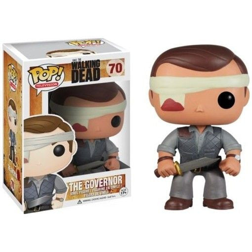The Walking Dead Pop! Vinyl Figure Gauze Governor [Previews Exclusive]